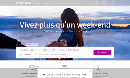 Weekendesk.fr - Sejours et week ends en France