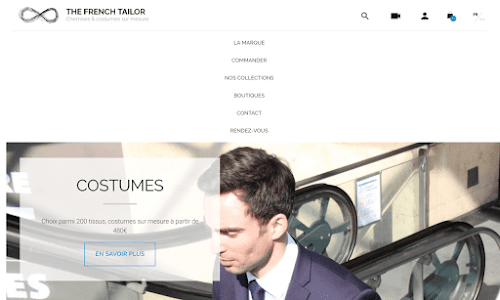 The French Tailor - Chemises et costumes sur mesure