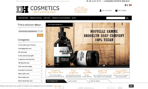 DH cosmetics Cosmétique