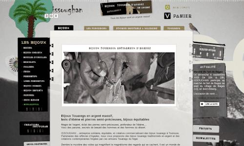 Issoughan, bijoux touaregs & ethniques en argent