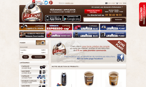 Distributeur de la marque espressocap