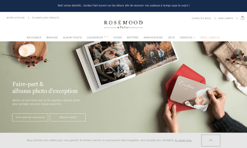 Atelier Rosemood Papeterie