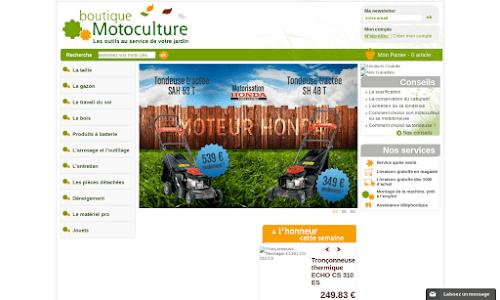Outillages de jardin motoculture accessoires boutique for Boutique jardinage en ligne