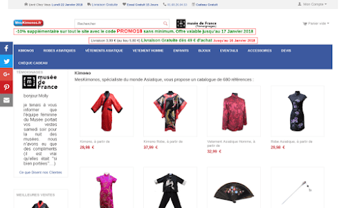 Kimono Japonais, meskimono
