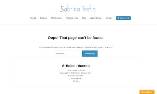 Sabrina Trefle créateur