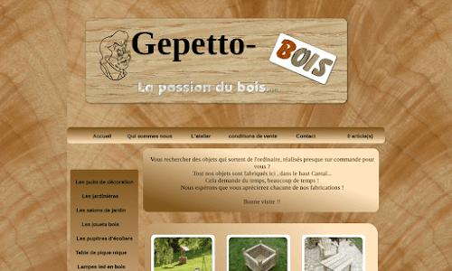 Gepetto bois Mobilier de jardin