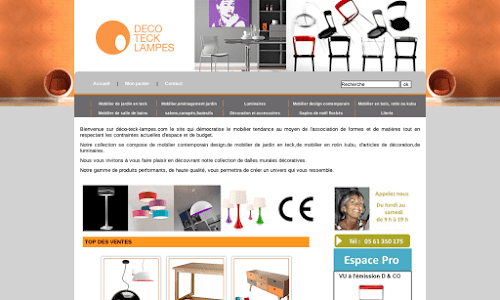 Mobilier de jardin et mobilier design au meilleur prix Mobilier