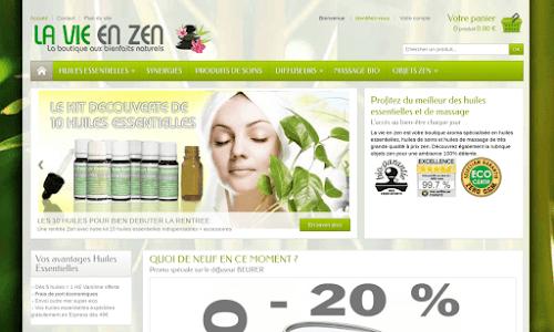 La vie en zen Produit biologique