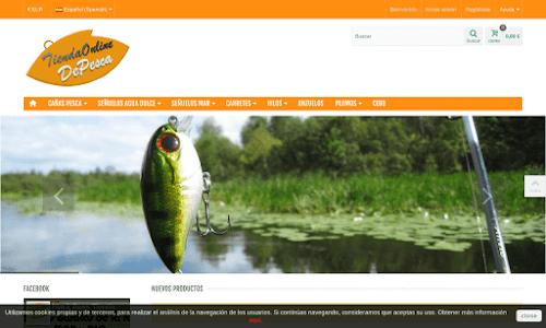 Tienda Online de pesca