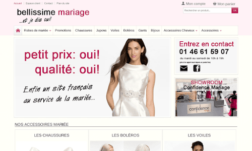 Bellissime Mariage Mode Femme