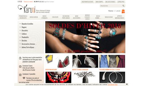 Bijoux ethniques en argent touareg