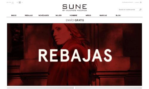 Sune by Sueños Negros Zapatos