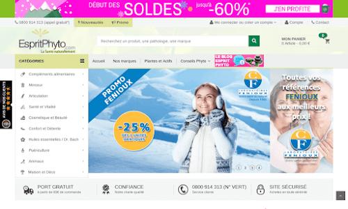 EspritPhyto - boutique cosmétique bio, produits minceur, phytothérapie
