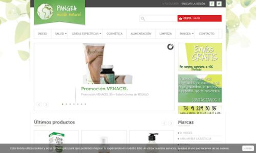 Herbolario PANGEA Mundo Natural Alimentación orgánica y dietética
