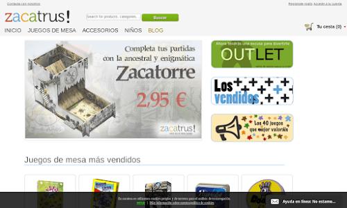 Zacatrus! Comprar juegos de mesa