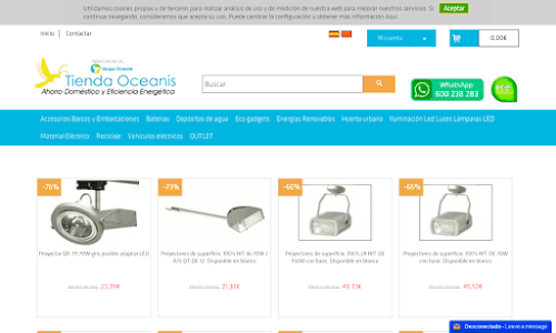 depositos de agua www.tiendaoceanis.com