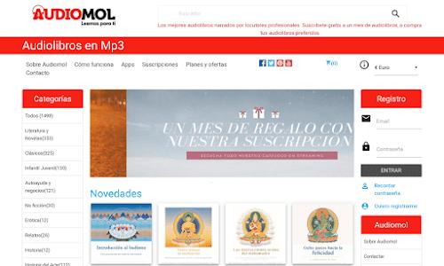 Audiolibros Audiomol