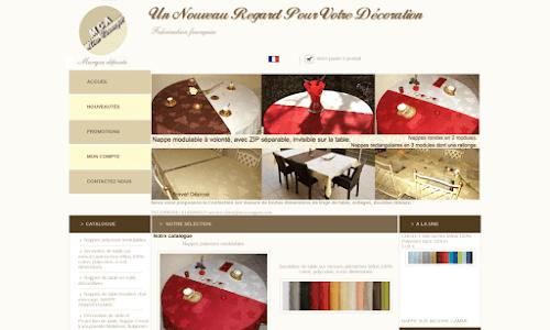 mca-nappes : Linge de table, Produits innovants décoratifs
