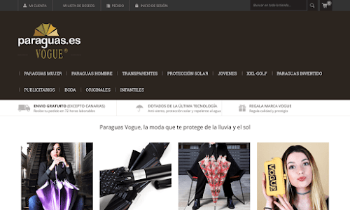 Paraguas.es Accesorios de moda