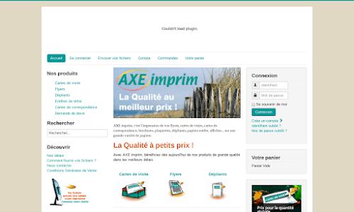 AXE Imprim : impression numérique