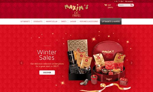 Maxim's : La boutique en ligne