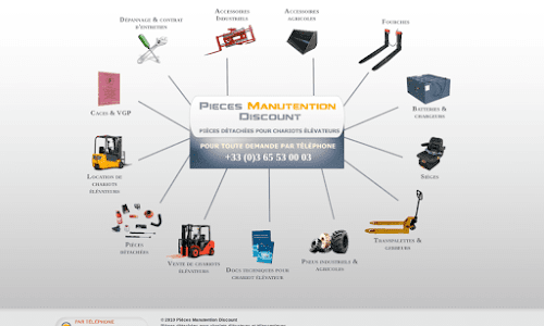 Pièces Manutention Discount