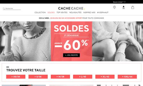 Cache Cache Mode Femme