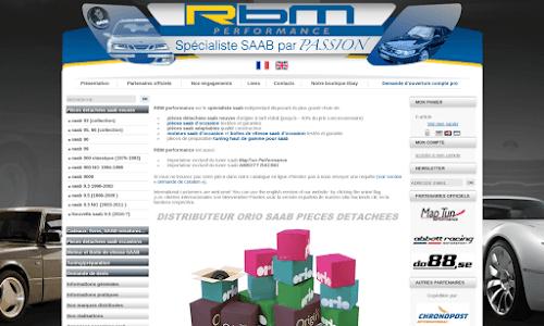 RBM performance Pièces détachées