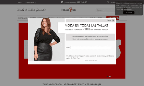Taille-Plus Moda Mujer