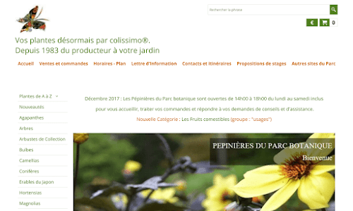 Pepinières botanique