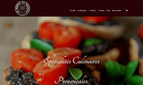 un Moment en Provence Produits du terroir