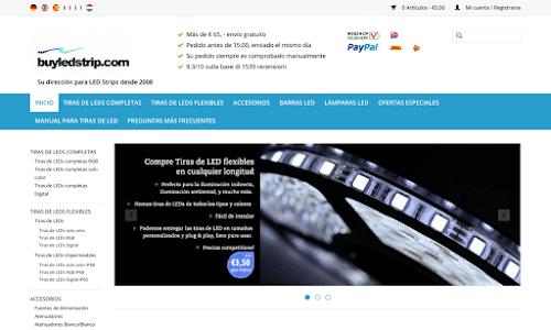 BuyLEDStrip.com - Producto de LED a precios de fabrica.