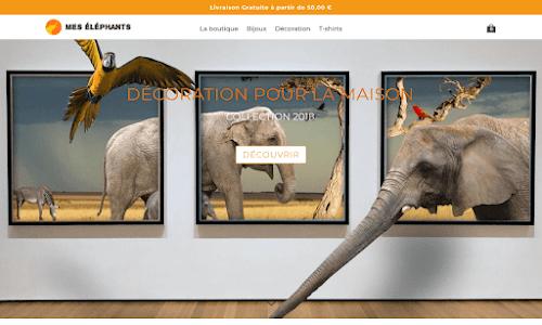 Mes éléphants