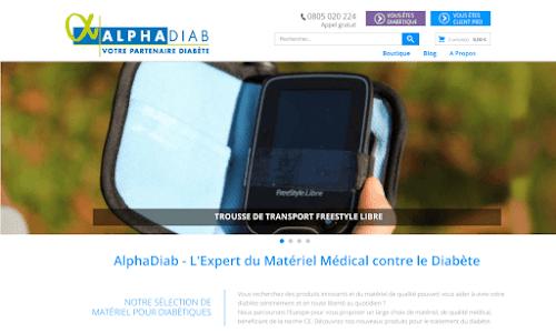 AlphaDiab Matériel médical