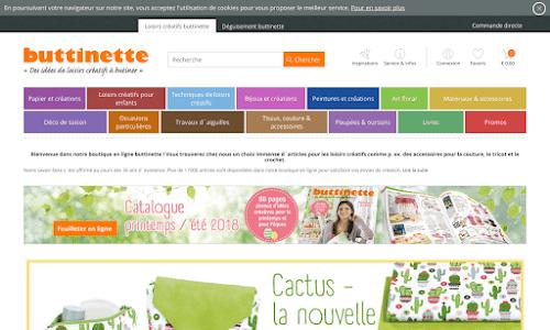 Buttinette - Des tissus et accessoires de peinture Bricolage