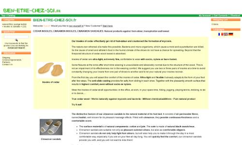 Semelles contre la transpiration et les odeurs des pieds Parapharmacie