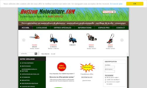 Vente en ligne motoculteurs outillage boutique en for Boutique jardinage en ligne