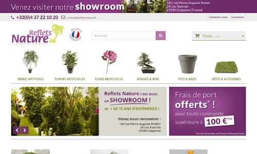 Reflets Nature vente en ligne plantes artificielles