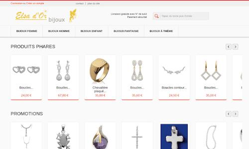 Elsa d'or bijoux Bijoux