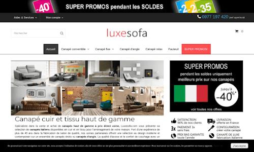 Luxe-Sofa