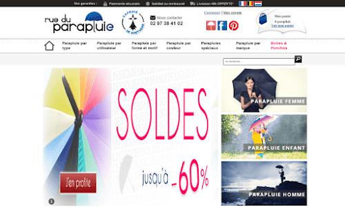 Boutique spécialisée dans la vente de parapluies Accessoires de mode