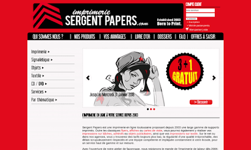 Sergent Papers | Imprimerie