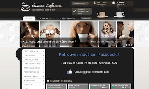 expresso-cafe.com, tout le café au meilleur prix