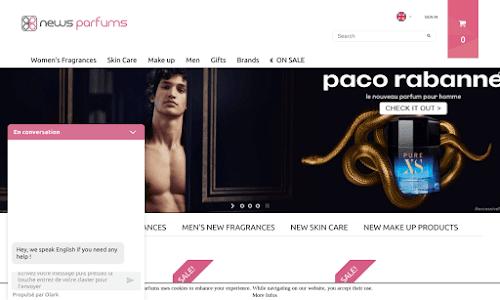 News parfums. Parfumerie et cosmétique