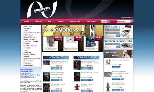 SideMovie - vente en ligne de figurines Collection et miniature