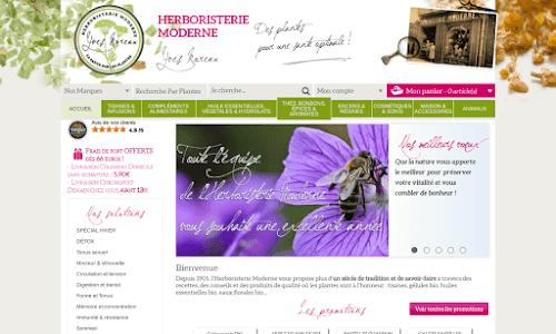 L'herboristerie Moderne Produit biologique