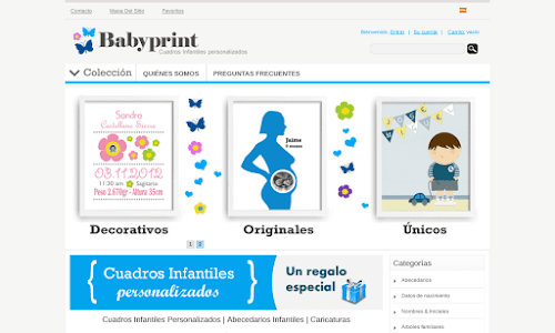 Babyprint Decoración