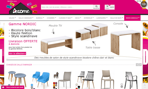 Decome Store Mobilier