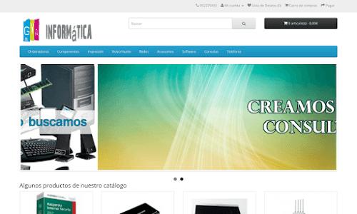 Tienda de Informática Online GyA.es