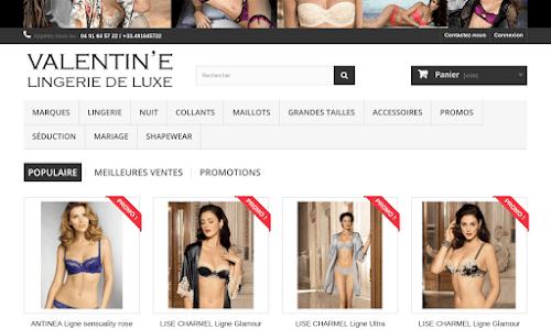 Valentine, lingerie féminine et masculine